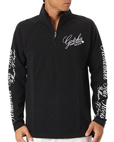 (ガッチャ ゴルフ) GOTCHA GOLF ポロシャツ 長袖 アームプリント ラグラン ハーフジップ シャツ 173GG1202