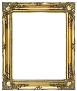 quality ornate gold wood frames 3 large sizes 5 colours frame only or plastic glass 20 x 16picture size plastic glass