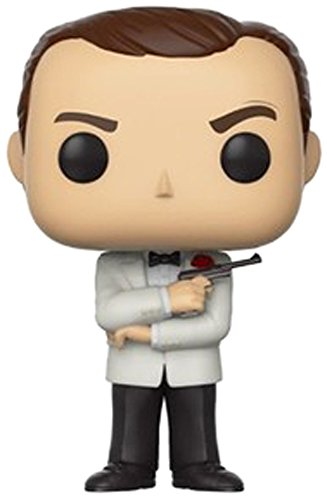Funko Pop Movies: James Bond-Sean Connery with White Tux Col