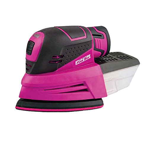 The Original Pink Box PB12VCS 12V Lithium Ion Cordless Sander