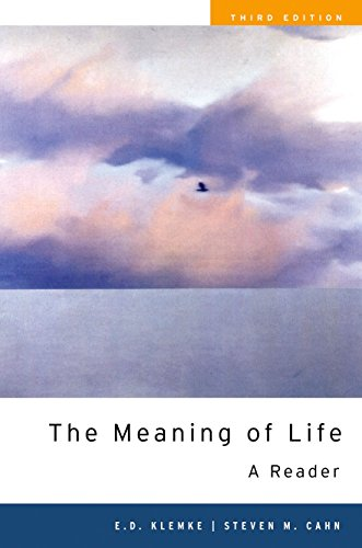 The Meaning of Life: A Reader