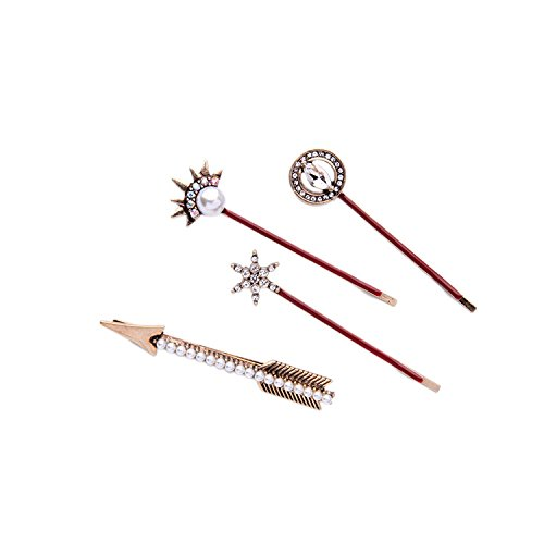 Nico Alloy Old Personality Arrow Set Ladies Hair Clip Side Clip