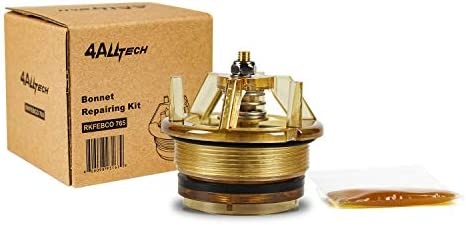 """homewinner 4ALLTECH Bonnet Poppet Repair package have compatibility for FEBCO 765-1 Replacement Part# 905-211 1"""" & 1-1/4"""" Backflow Preventer and Vacuum Breaker"""