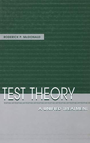 Test Theory: A Unified Treatment