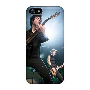 Iphone 5/5s JzS413DDeb Custom Nice Green Day Image Shock Absorption Hard Phone Case -DannyLCHEUNG