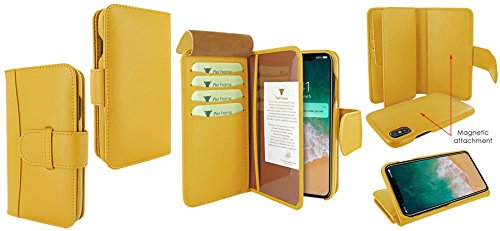 Piel Frama 793 Yellow WalletMagnum Leather Case for Apple iPhone X by Piel Frama (Image #6)