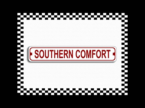Southern Comfort Drive Novelty Metal Street Sign 3x18
