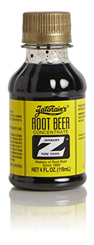 Zatarains Root Beer Concentrate, 4 Ounce Bottles (pack of 2)