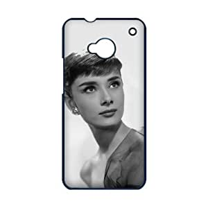 CASECOCO(TM) Audrey Hepburn Series Black Case&Cover for HTC One M7-Black by mcsharks