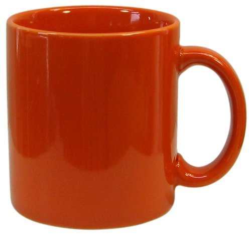 (Waechtersbach Fun Factory II Orange Mugs, Set of 4)