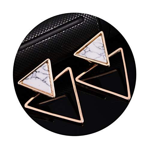 Vindictus Costumes - Simple Trendy Geometric Triangle Black White