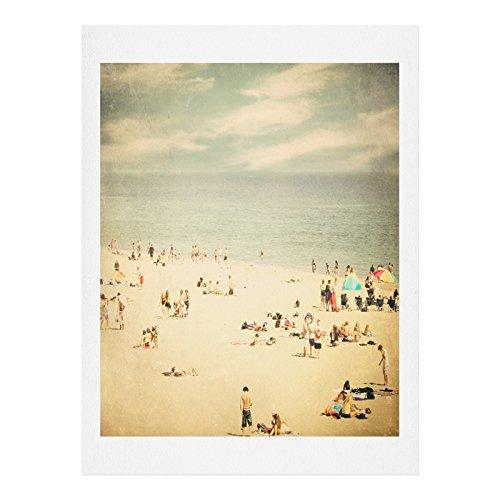 Deny Designs Shannon Clark Vintage Beach Art Print, 8 x 10 by Deny Designs