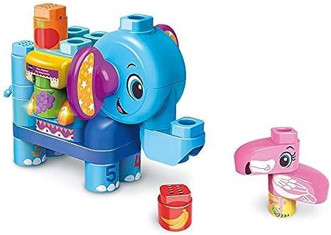 VTech- BlaBla Block Juego de construcción electrónico Elefante parlante, Color (3480-604722): Amazon.es: Juguetes y juegos