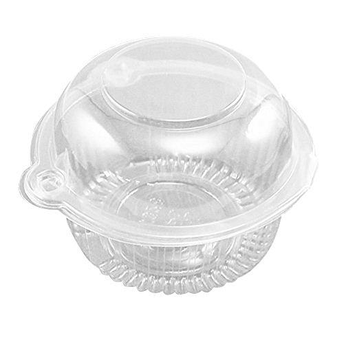 Sealike Individual Plastic Cupcake Holders