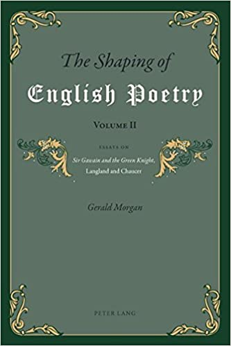 Argument Essay Thesis The Shaping Of English Poetry Volume Ii Essays On Sir Gawain And The Green  Knight Langland And Chaucer New Edition Edition Columbia Business School Essay also English Literature Essay The Shaping Of English Poetry Volume Ii Essays On Sir Gawain And  Essay On Health Promotion