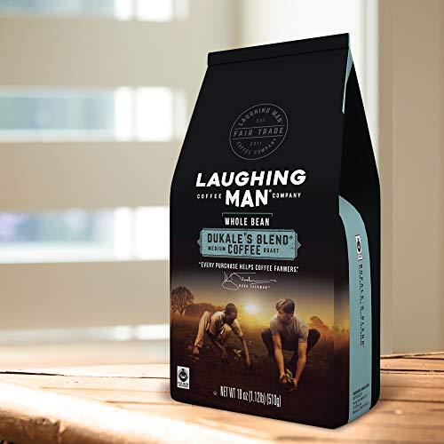 Laughing Man Dukale's Blend, Whole Bean Coffee, Medium ...