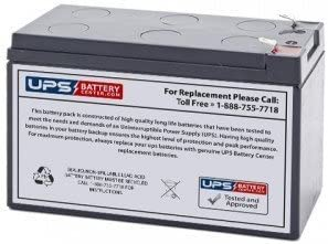 12V 7.2Ah Sealed Lead Acid Replacement Battery F1 Terminal