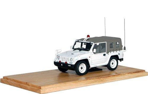 1/43 1/2t小型トラック(1996) 第128地区警務隊 「73式小型トラック(1996年)シリーズ」 J01PF