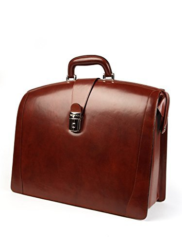Bosca Leather Partners Briefcase - Dark Brown Old Leather by Bosca Leather