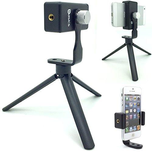 Smartphone-Live-Perisope-Meerkat-Steam-Smartphone-Record-Tripod-Adapter-Mount-w360-rotation-thumb-screw-for-Apple-iPhone-7-Plus-6s-6-Samsung-Galaxy-S7-Edge-S6-8-LG-G5-by-AccessoryBasics