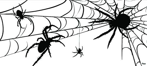 Victory Corps Spiders - Halloween Garage Door Banner Mural Sign Décor 7'x 16' Car Garage - The Original Holiday Garage Door Banner Decor for $<!--$299.95-->