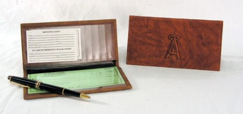 Rico Anaheim Angels MLB Embossed Checkbook Cover