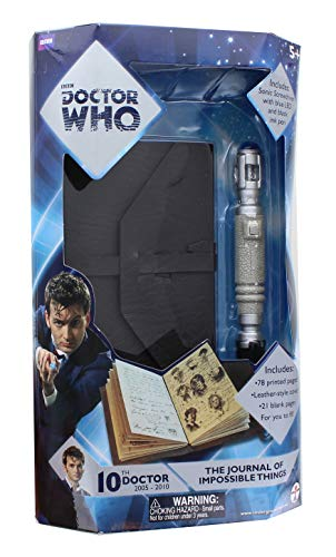 Doctor Who - Journal of Impossible Things - Mini Sonic Screwdriver Pen -