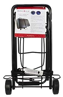 Maple Leaf ML6226BK Compact Luggage Cart, International Carry-on, Black (B00HQYMD9E) | Amazon Products