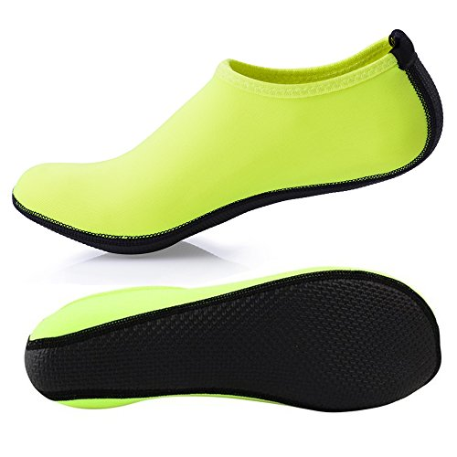 Water Kids Dry Slip On Shoes Aqua Skin Adult Socks Breathable Men Girls Barefoot surfing SUADEX Unisex Beach Shoes Yoga Green Women Boys Swim Quick For w5HxAftq