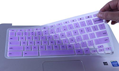CaseBuy Keyboard Protector Chromebook Semi Violet