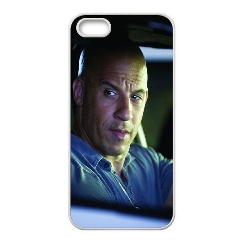 Vin Diesel Actor Man Car Wheel Serious Bald 18960 coque iPhone 4 4S cellulaire cas coque de téléphone cas blanche couverture de téléphone portable EOKXLLNCD20641