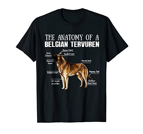 The Anatomy of A Belgian Tervuren T-shirt