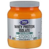 NOW Sports Nutrition, Whey Protein Isolate Powder, Unflavored, 1.2-Pound