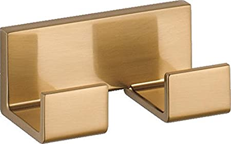 Polished Chrome Delta Faucet 77736 Vero Double Robe Hook