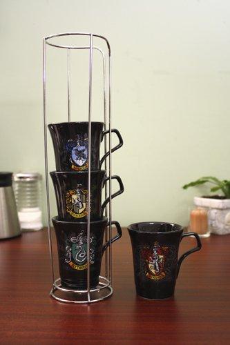 Harry Potter-Stackable House Crest Mugs
