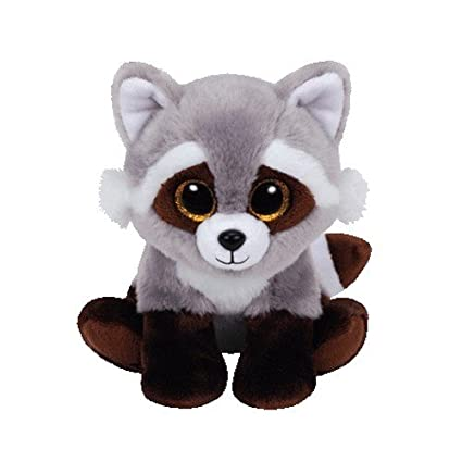Amazon.com  Ty Classic Bandit The Raccoon Plush  Toys   Games 2cf7f11ba0d