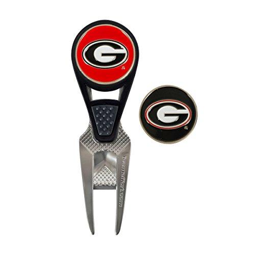 Golf Bulls Ball (Team Effort Georgia Bulldogs Cvx Ball Mark Repair Tool)