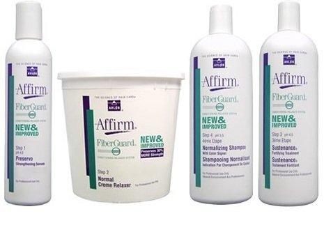 - Avlon Affirm FiberGuard Creme Relaxer Normal Kit