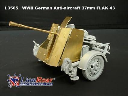 Military Anti Aircraft Gun Cannon Model Kids Boys Educational Toy