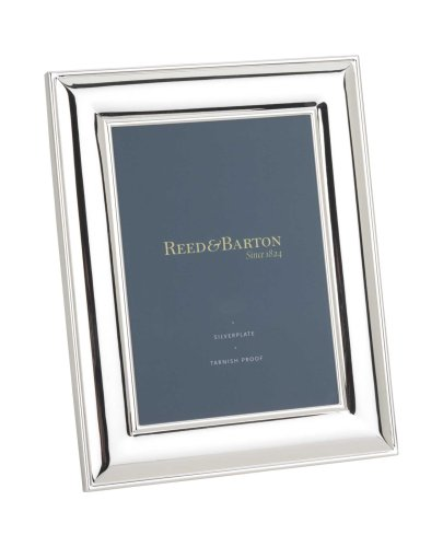 - Reed & Barton Newton Tarnish-Resistant Silverplated 5 Inch by 7 Inch Picture Frame