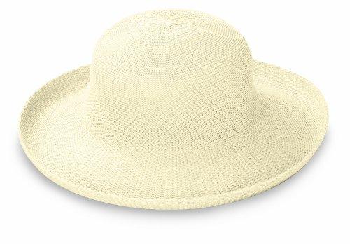 Wallaroo Hat Company Women's Victoria Sun Hat - Natural - Ultra-Lightweight, Packable, Modern Style, Designed in Australia.