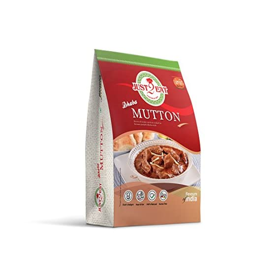 Just2Eat Dhaba Mutton Ready To Eat Pack (280 Gm)