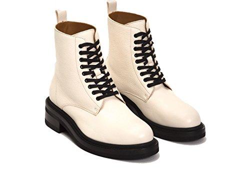 Frye 79.918 Kvinna Alice Bekämpa Boot White