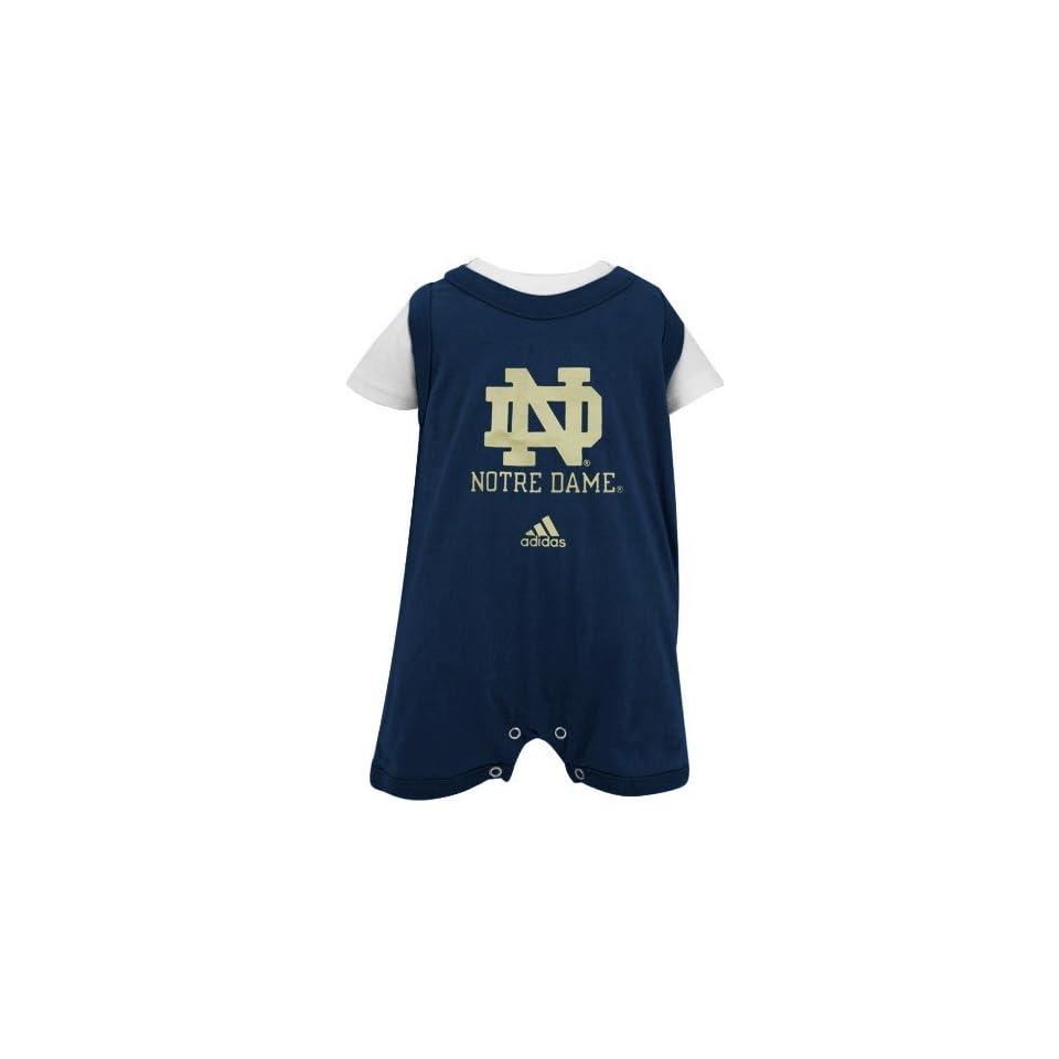adidas Notre Dame Fighting Irish Infant Navy Blue Tank Over Creeper
