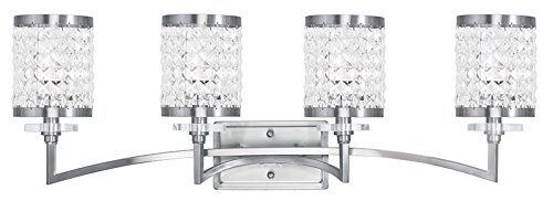 Livex Lighting 50564-91 Gramercy 4-Light Bath Light, Brushed ()