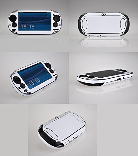 White Carbon Fiber Vinyl Skin Sticker Cover Protector for Sony Playstation PS Vita PSV
