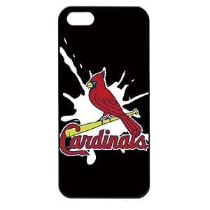 MLB Major League Baseball St. Louis Cardinals Logo Case For Samsung Note 2 Cover PC Soft (Black)