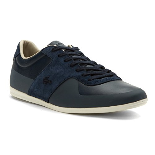 Lacoste Mens Turnier 316 1 Cam Fashion Sneaker Navy