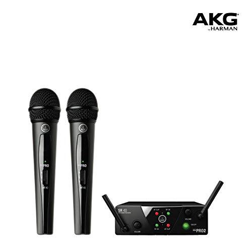 AKG Pro Audio WMS40 Mini2 Vocal Set BD US45A/C EU/US/UK Wireless Microphone System