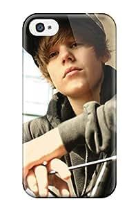Hot Justin Bieber First Grade Tpu Phone Case For Iphone 4/4s Case Cover